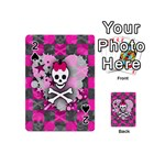 Princess Skull Heart Playing Cards 54 Designs (Mini)