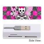 Princess Skull Heart Memory Card Reader (Stick)