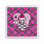 Princess Skull Heart Memory Card Reader (Square)