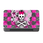 Princess Skull Heart Memory Card Reader with CF