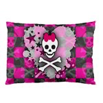 Princess Skull Heart Pillow Case (Two Sides)