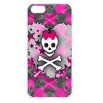 Princess Skull Heart iPhone 5 Seamless Case (White)