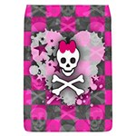 Princess Skull Heart Removable Flap Cover (L)