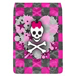 Princess Skull Heart Removable Flap Cover (S)