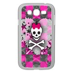 Princess Skull Heart Samsung Galaxy Grand DUOS I9082 Case (White)