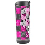 Princess Skull Heart Travel Tumbler