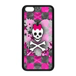 Princess Skull Heart iPhone 5C Seamless Case (Black)