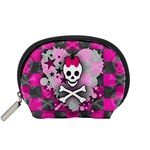 Princess Skull Heart Accessory Pouch (Small)
