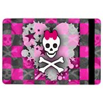 Princess Skull Heart Apple iPad Air 2 Flip Case