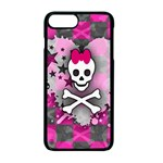 Princess Skull Heart iPhone 7 Plus Seamless Case (Black)