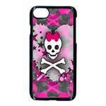 Princess Skull Heart iPhone 7 Seamless Case (Black)