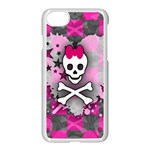 Princess Skull Heart iPhone 7 Seamless Case (White)