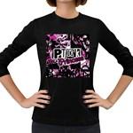 Punk Princess Women s Long Sleeve Dark T-Shirt