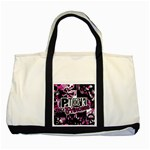 Punk Princess Two Tone Tote Bag