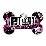 Punk Princess Dog Tag Bone (One Side)