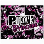 Punk Princess Canvas 11  x 14