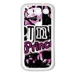 Punk Princess Samsung Galaxy S3 Back Case (White)
