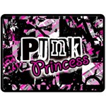 Punk Princess Double Sided Fleece Blanket (Large)