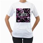 Punk Princess Women s T-Shirt (White)