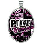 Punk Princess Oval Necklace