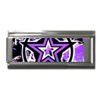 Purple Star Superlink Italian Charm (9mm)