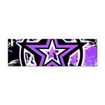 Purple Star Sticker Bumper (100 pack)