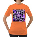 Purple Star Women s Dark T-Shirt