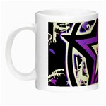 Purple Star Night Luminous Mug