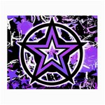 Purple Star Small Glasses Cloth (2 Sides)