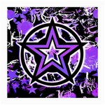 Purple Star Medium Glasses Cloth