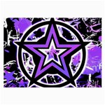Purple Star Large Glasses Cloth (2 Sides)
