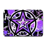 Purple Star Small Doormat