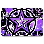 Purple Star Large Doormat