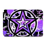Purple Star Plate Mat
