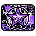 Purple Star Netbook Case (Large)