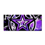 Purple Star Hand Towel