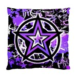 Purple Star Standard Cushion Case (One Side)
