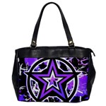 Purple Star Oversize Office Handbag