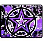 Purple Star Fleece Blanket (Medium)