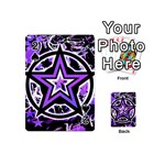 Purple Star Playing Cards 54 Designs (Mini)