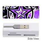 Purple Star Memory Card Reader (Stick)