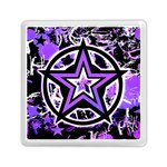 Purple Star Memory Card Reader (Square)