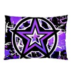 Purple Star Pillow Case (Two Sides)