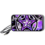 Purple Star Portable Speaker (Black)