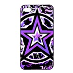 Purple Star iPhone 4/4s Seamless Case (Black)