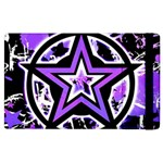 Purple Star Apple iPad 3/4 Flip Case
