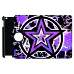 Purple Star Apple iPad 3/4 Flip 360 Case