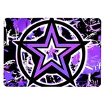 Purple Star Samsung Galaxy Tab 10.1  P7500 Flip Case