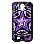 Purple Star Samsung Galaxy S4 I9500/ I9505 Case (Black)