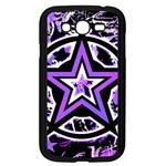 Purple Star Samsung Galaxy Grand DUOS I9082 Case (Black)